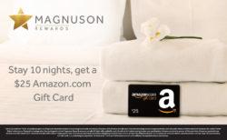 Magnuson Rewards Offer